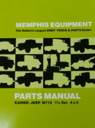 Memphis Equipment Parts-ME715